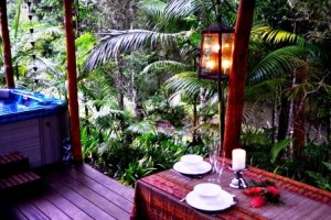 Waterfall Hideout Rainforest Retreat - the veranda